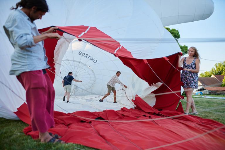 Let balónem z Radešína